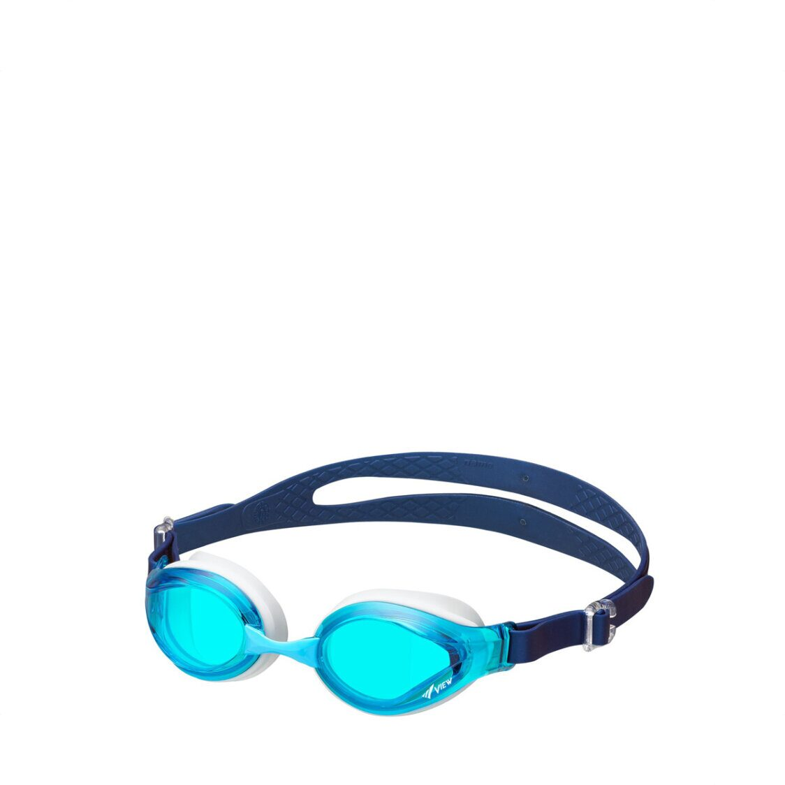 View Junior Goggle 6 To 12 Years Old Blue Clear AAV760JA