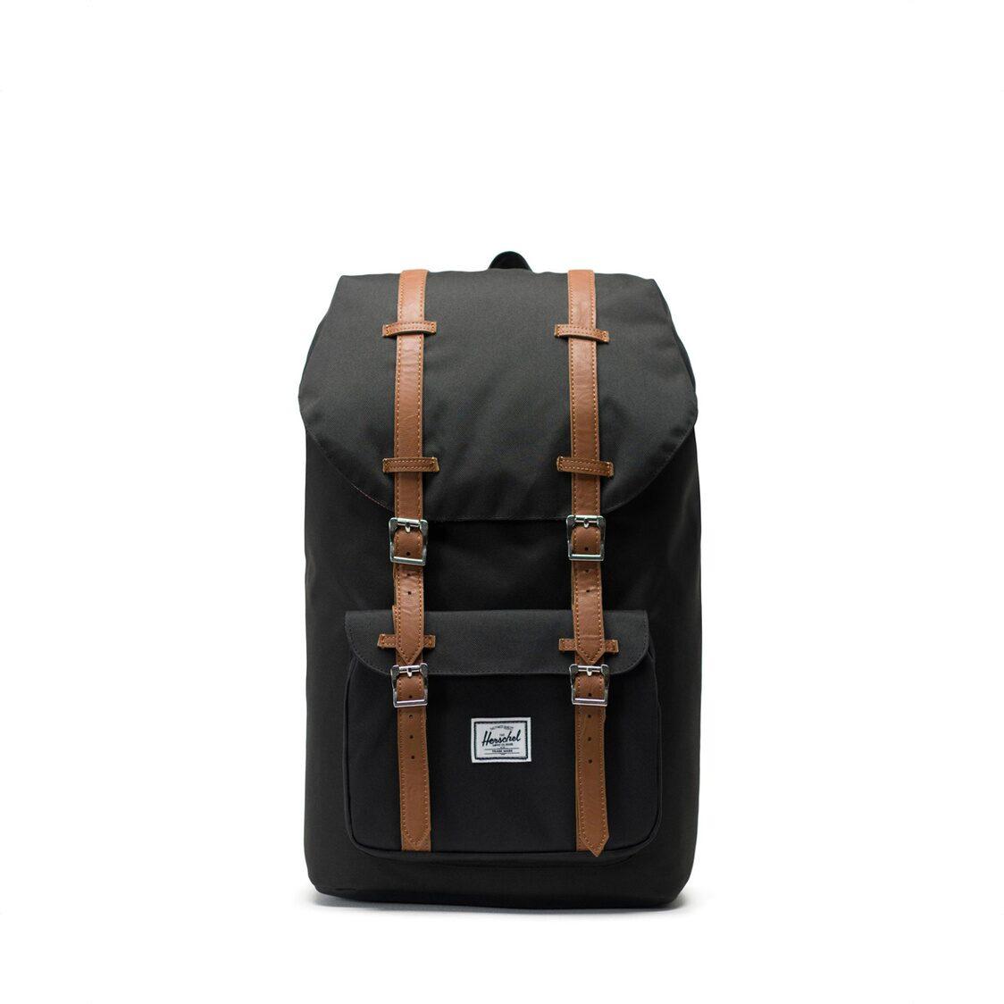 Herschel Little America 600D Poly Black Backpack