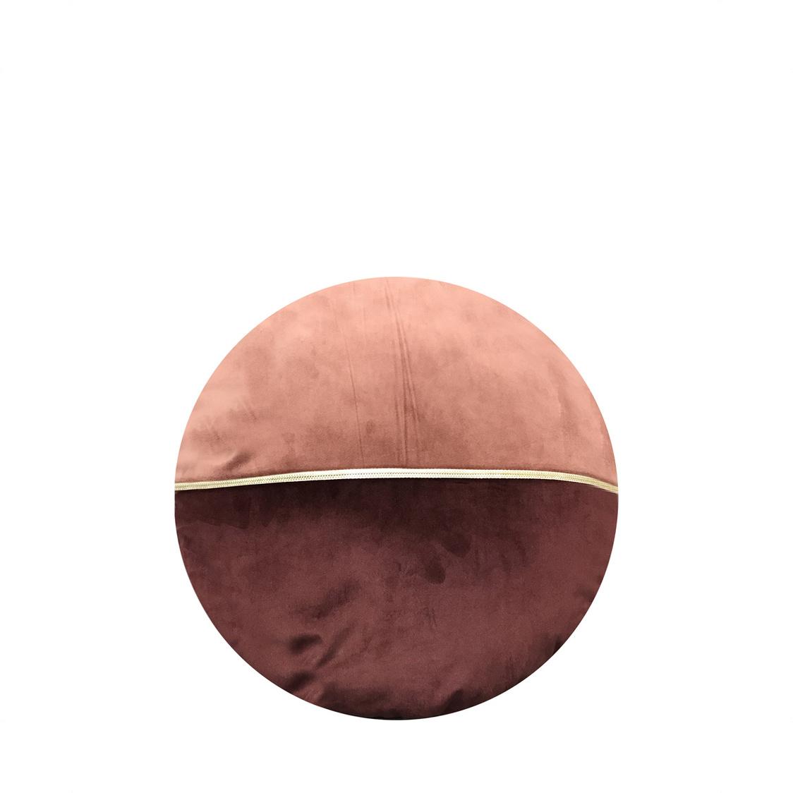 JRapee Grace Round Cushion Pink 36x36cm