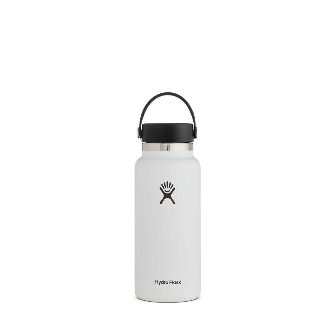 Hydro Flask Wide Mouth Flex Cap 32oz White