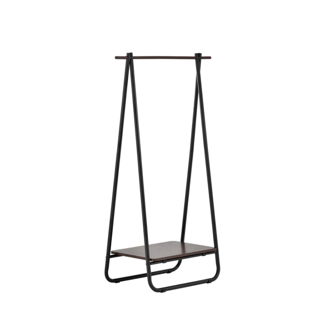 Rene Clothes Storage Rack Swing Color - Black