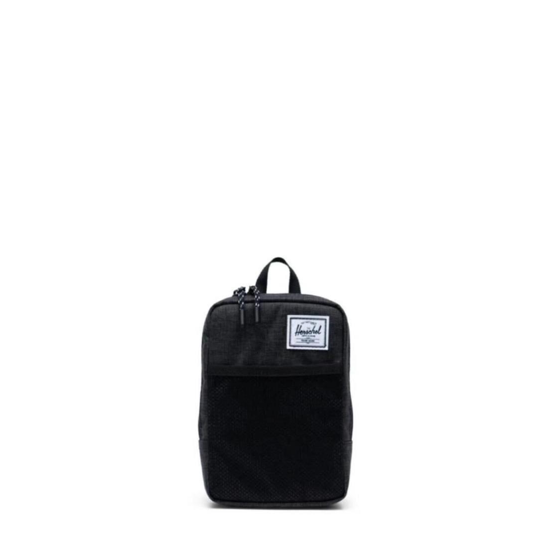 Herschel Sinclair Large Black Crosshatch Backpack 10567-02090-OS