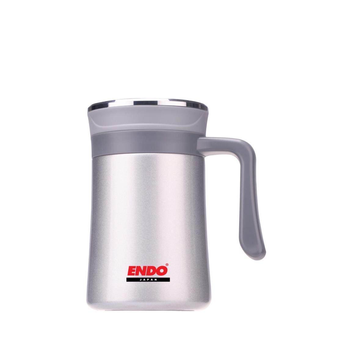 Endo 500ml Anti-bac Double Ssteel Vacuumised Desk Mug CX1008