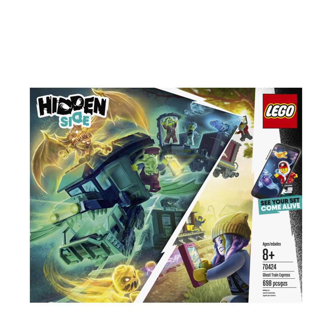 LEGO HIDDEN SIDE - Ghost Train Express 70424