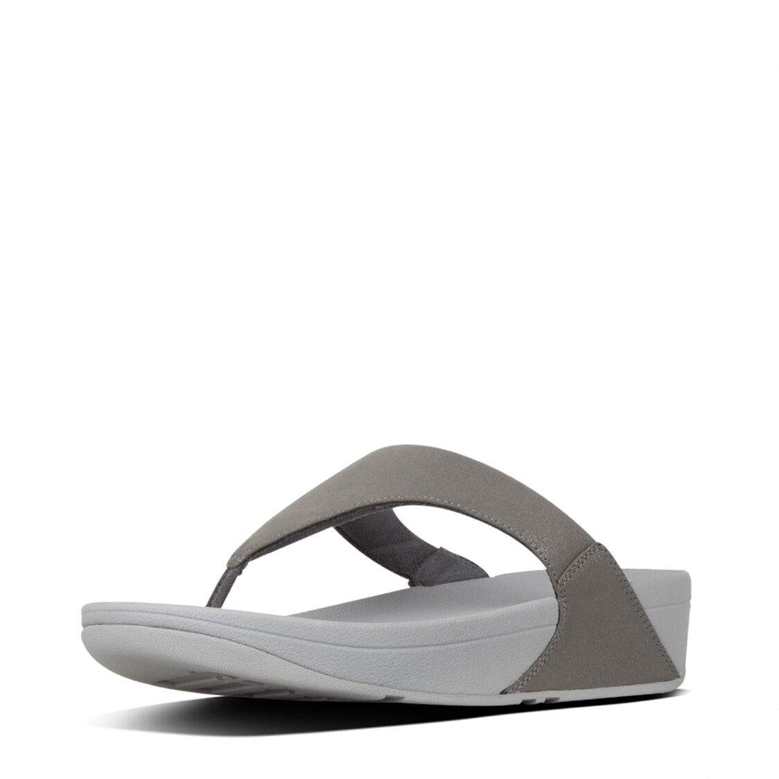Fitflop Lulu Shimmer Pewter