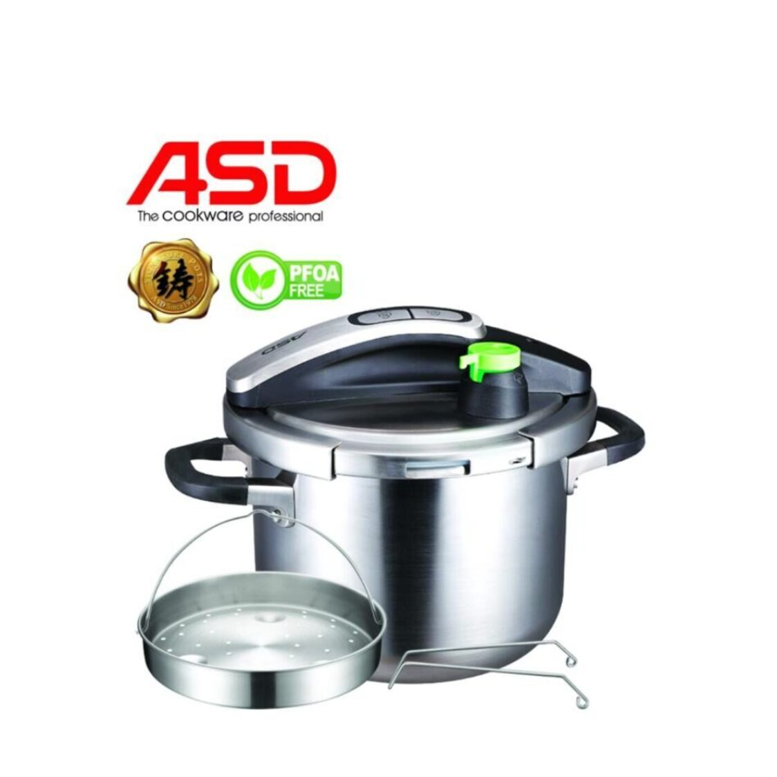 ASD 6L 3-Ply Ultra Fast Pressure Cooker HP6002PC