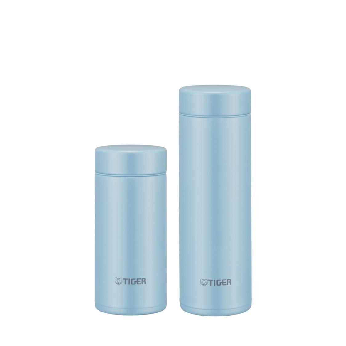 Tiger 200ML300ML Ultra Light Double SSteel Bottle Set - Azure Blue MMP-J021  MMP-J031 AA