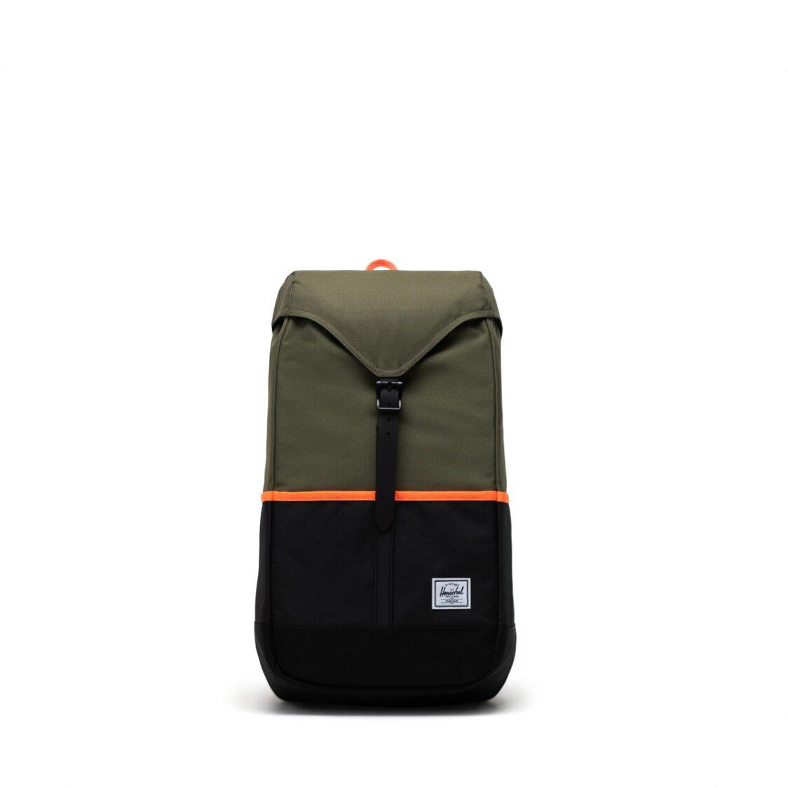 Herschel Thompson Pro Ivy GreenBlackShocking Orange Backpack 11041-04940-OS