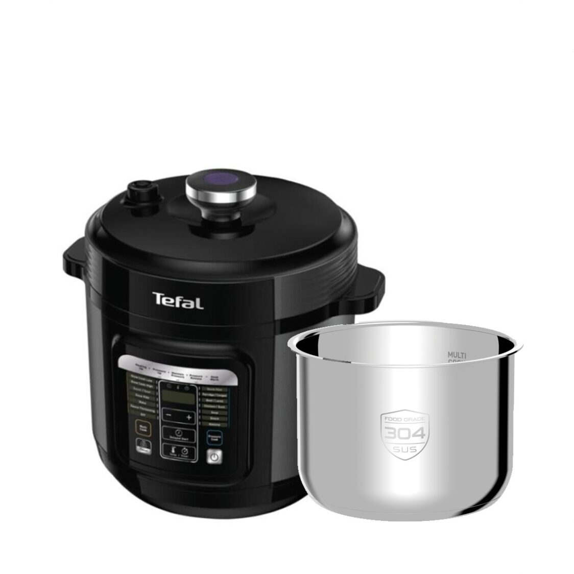 Tefal Home Chef Smart Pro Multicooker 6L  Additional Inner Pot CY601  XA622