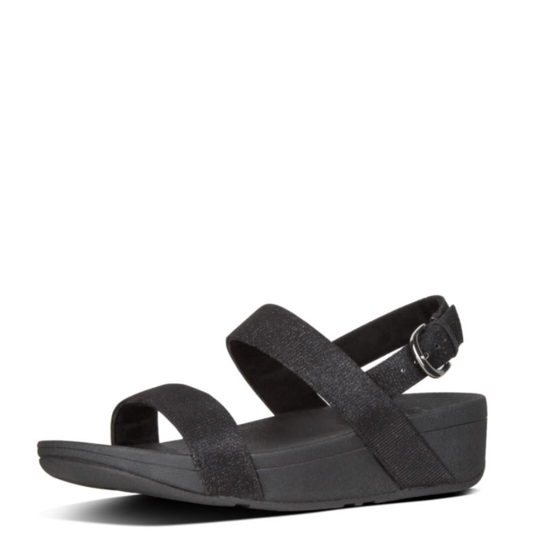 Fitflop Lottie Glitzy Sandal Black R20-001