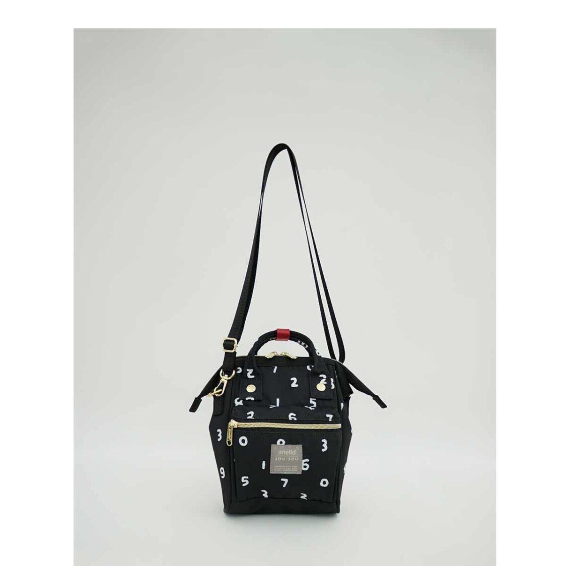 Anello X Sousou 2Way Micro Shoulder Bag Black