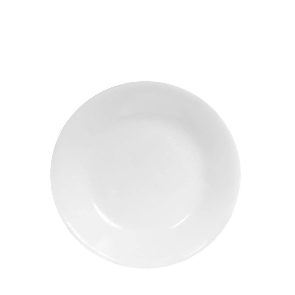 Corelle BreadButter Plate Winter Frost White