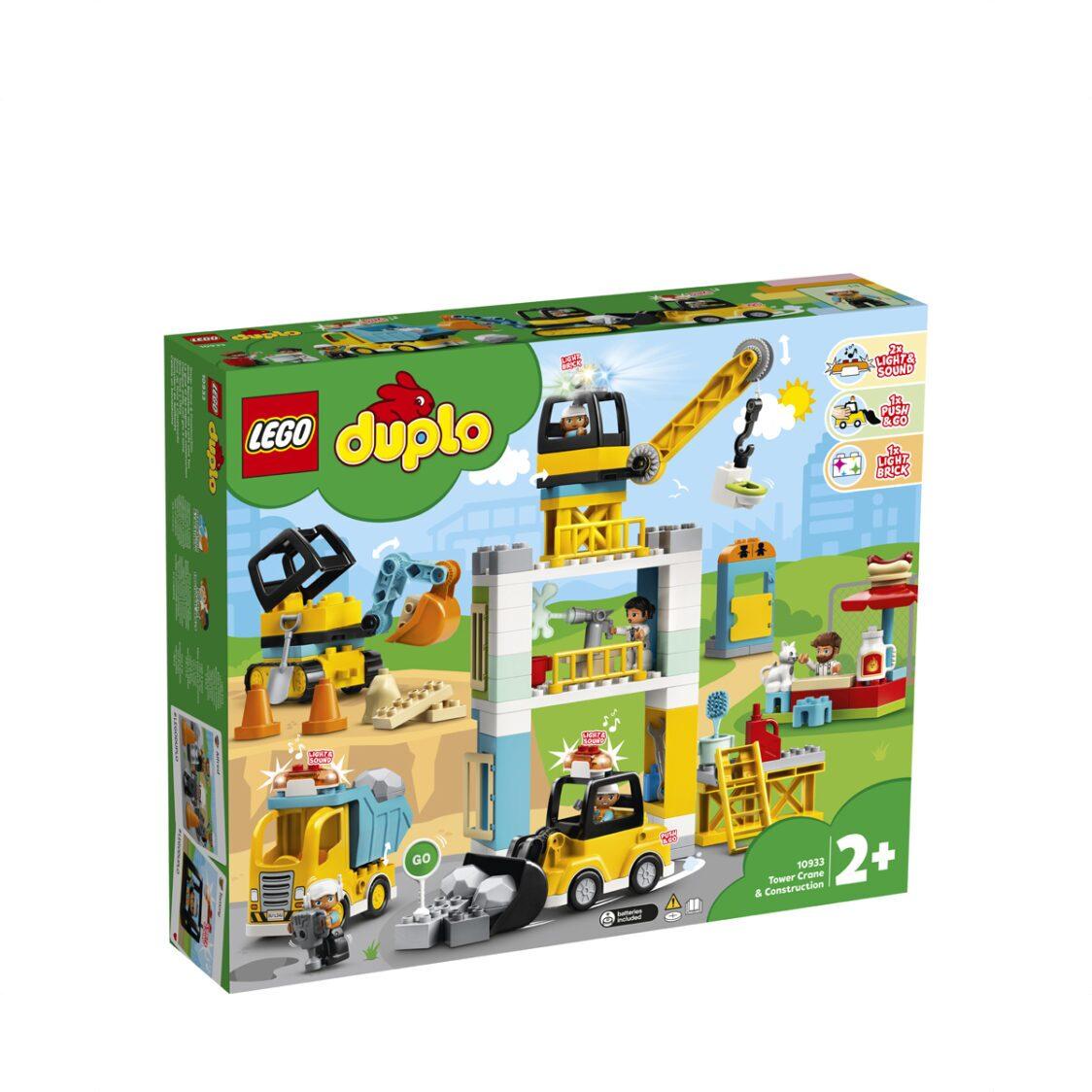 LEGO Tower Crane  Construction 10933 V29