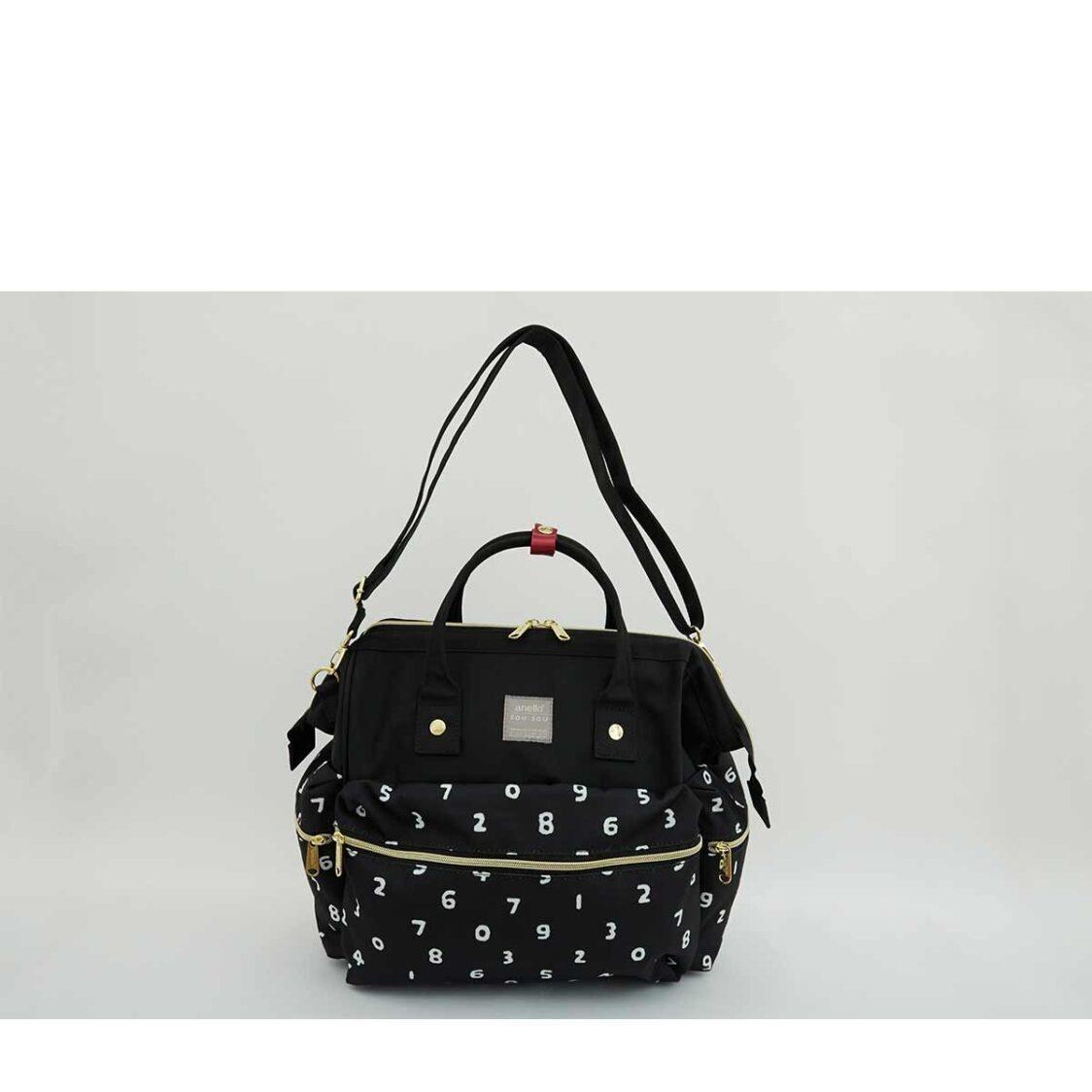 Anello X Sousou 3Way Boston Bag Black