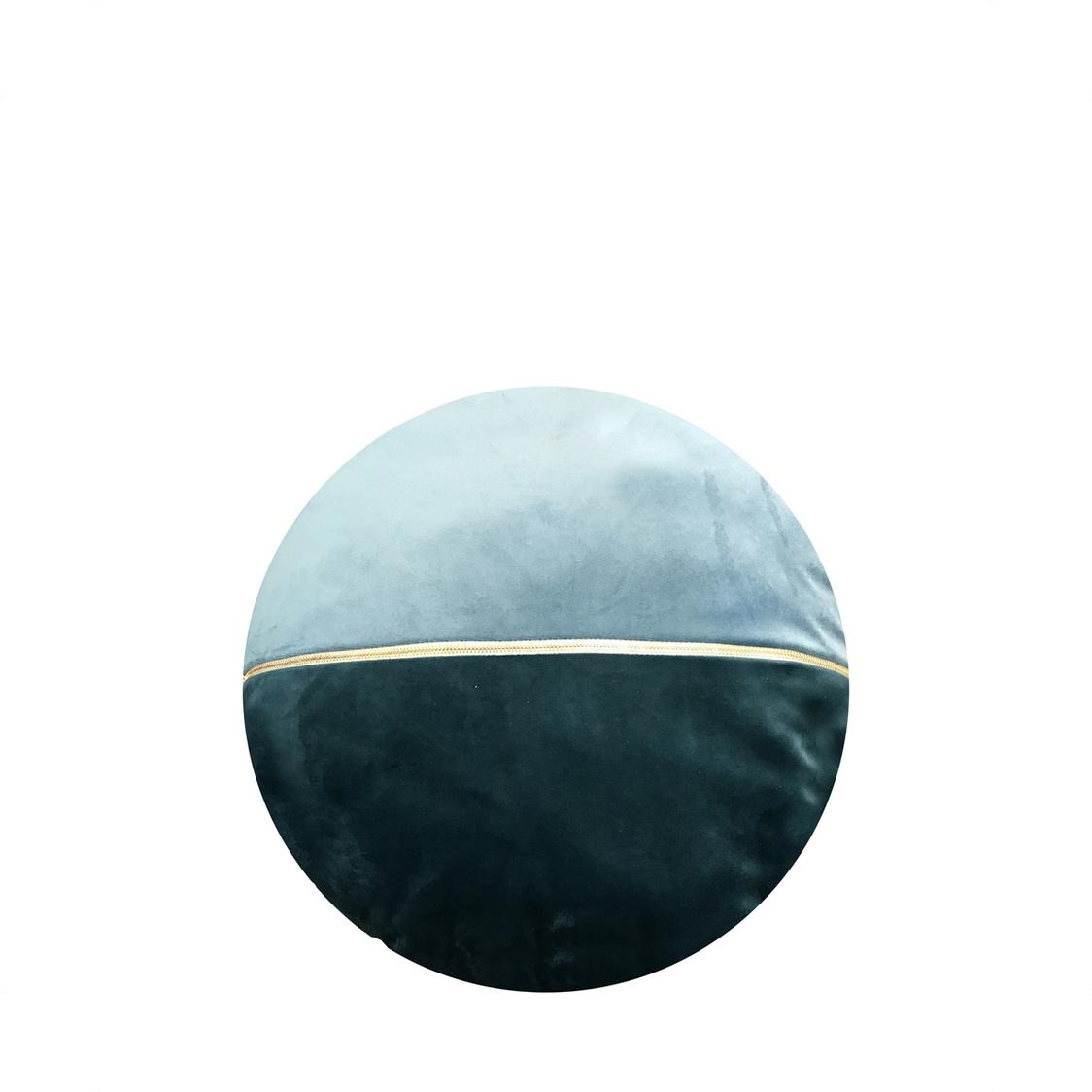 JRapee Grace Round Cushion Aqua 36x36cm