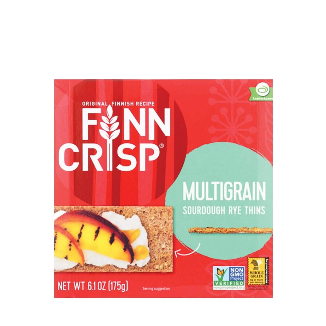 Finn Crisp Multigrain - Thin Crispbread 175g