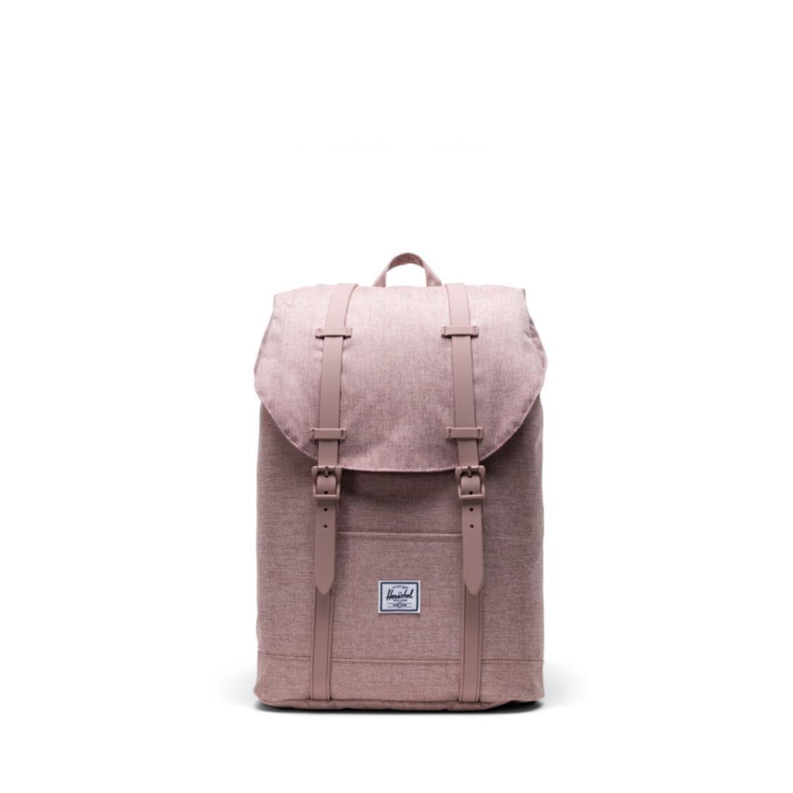 Herschel Retreat Mid-Volume RetreatAsh Rose Crosshatch Backpack 10329-04885-OS