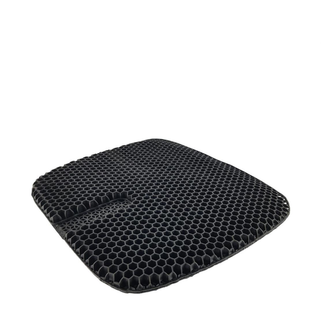True Relief Honeycomb Cooling TPE Gel Seat Cushion Coal Black