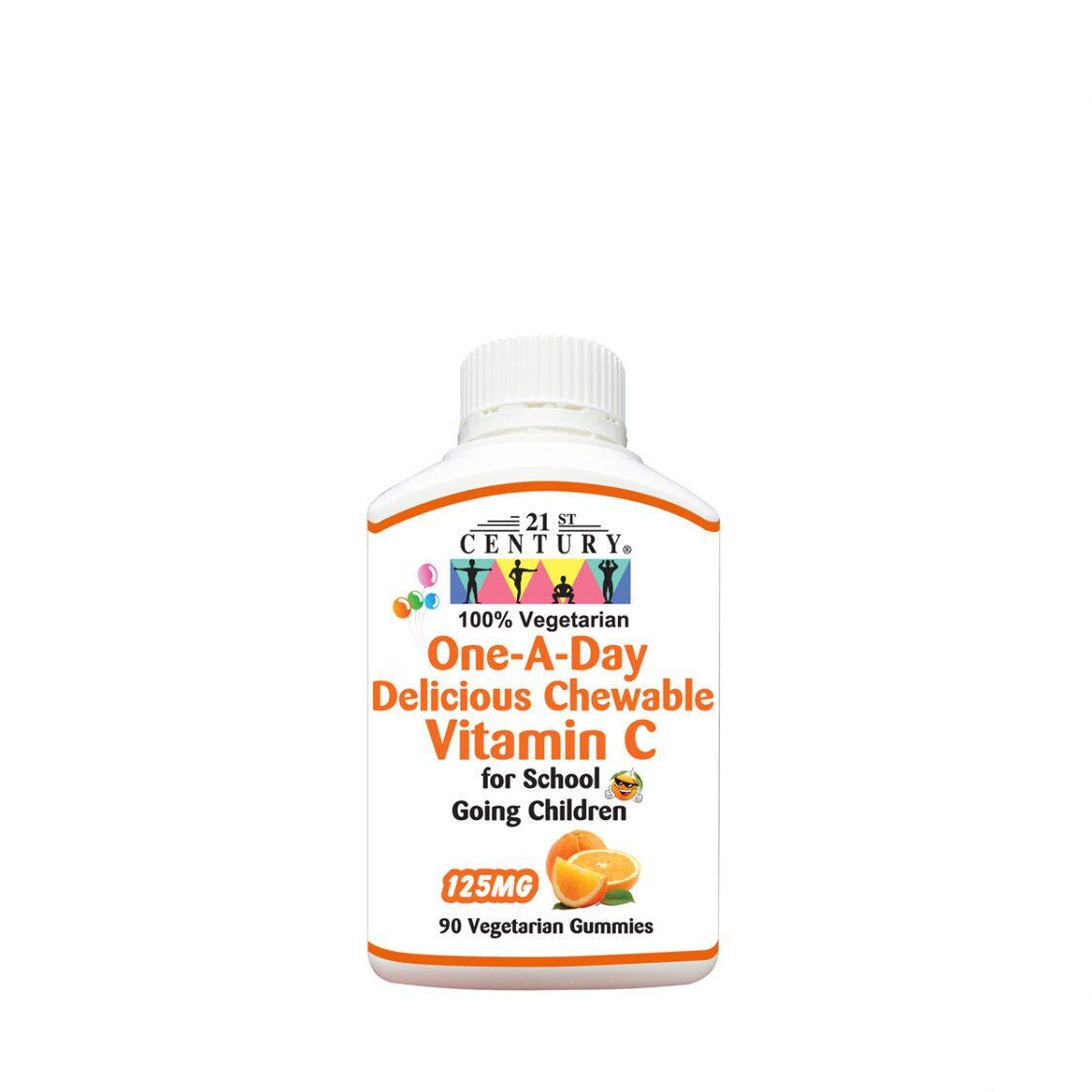 21st Century One-A-Day Children Vitamin C 125Mg 90 Gummies