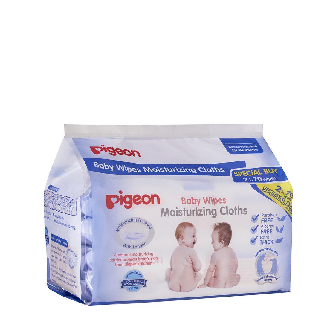 Pigeon Moisturizing Cloth 2in1 70s