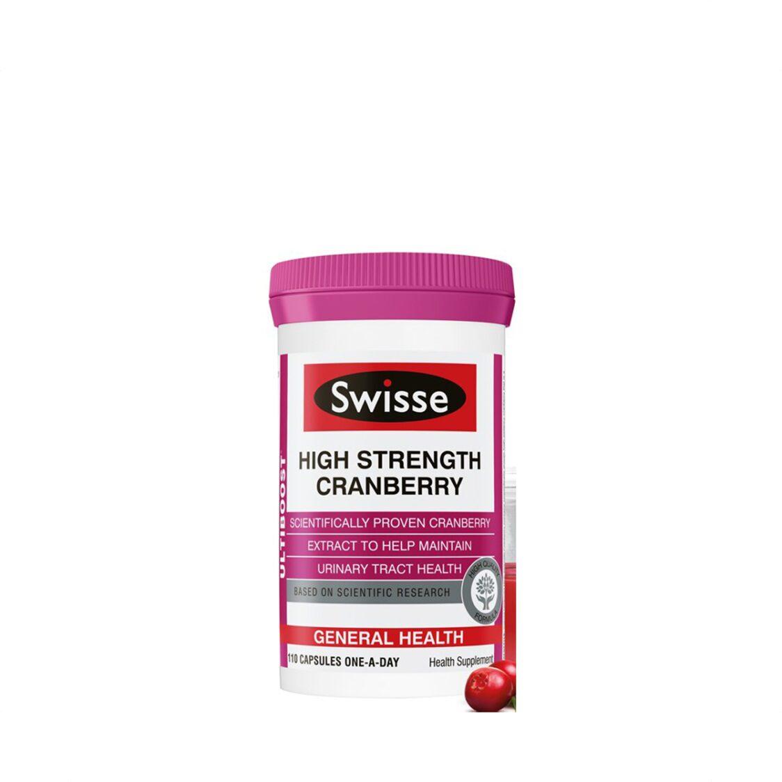 Swisse Ultiboost High Strength Cranberry 110s