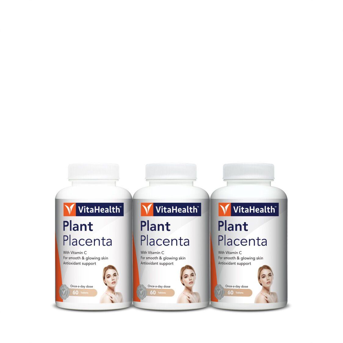 Vitahealth Plant Placenta 60S Triple Pack