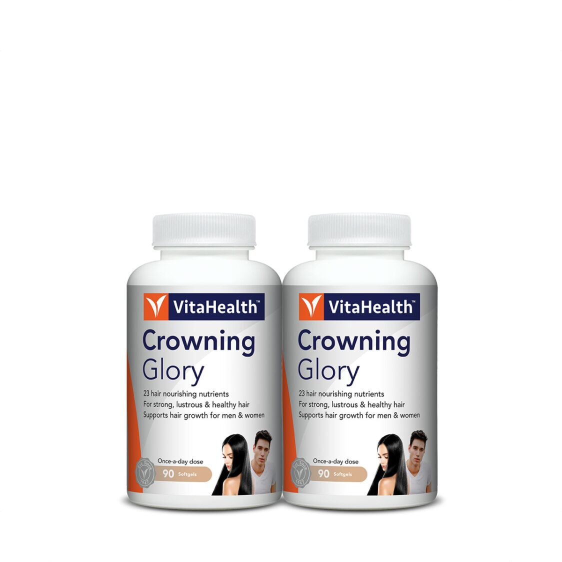VitaHealth Crowning Glory 2x90 Softgels
