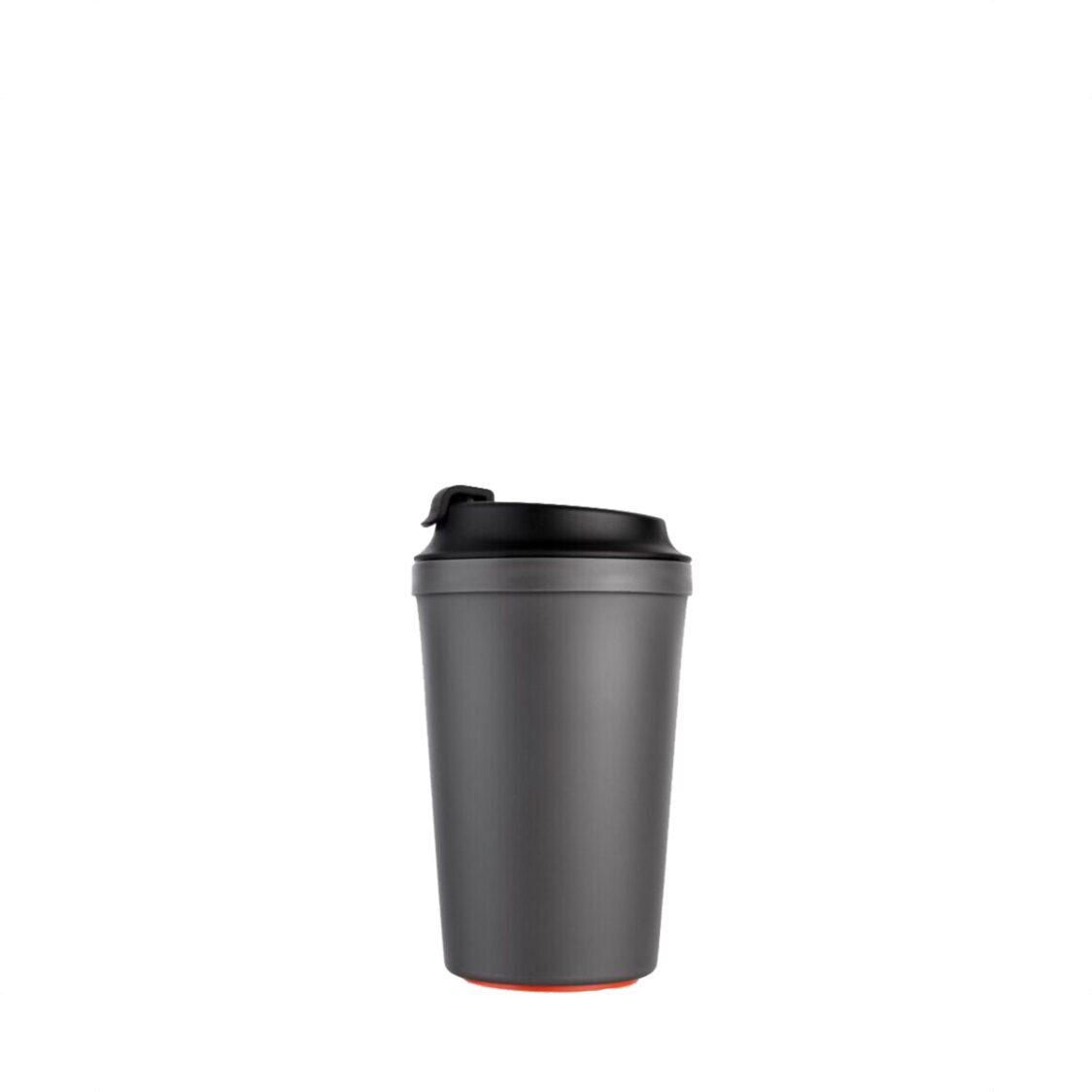 Artiart Suction Idea Caf Mug Grey 340ml