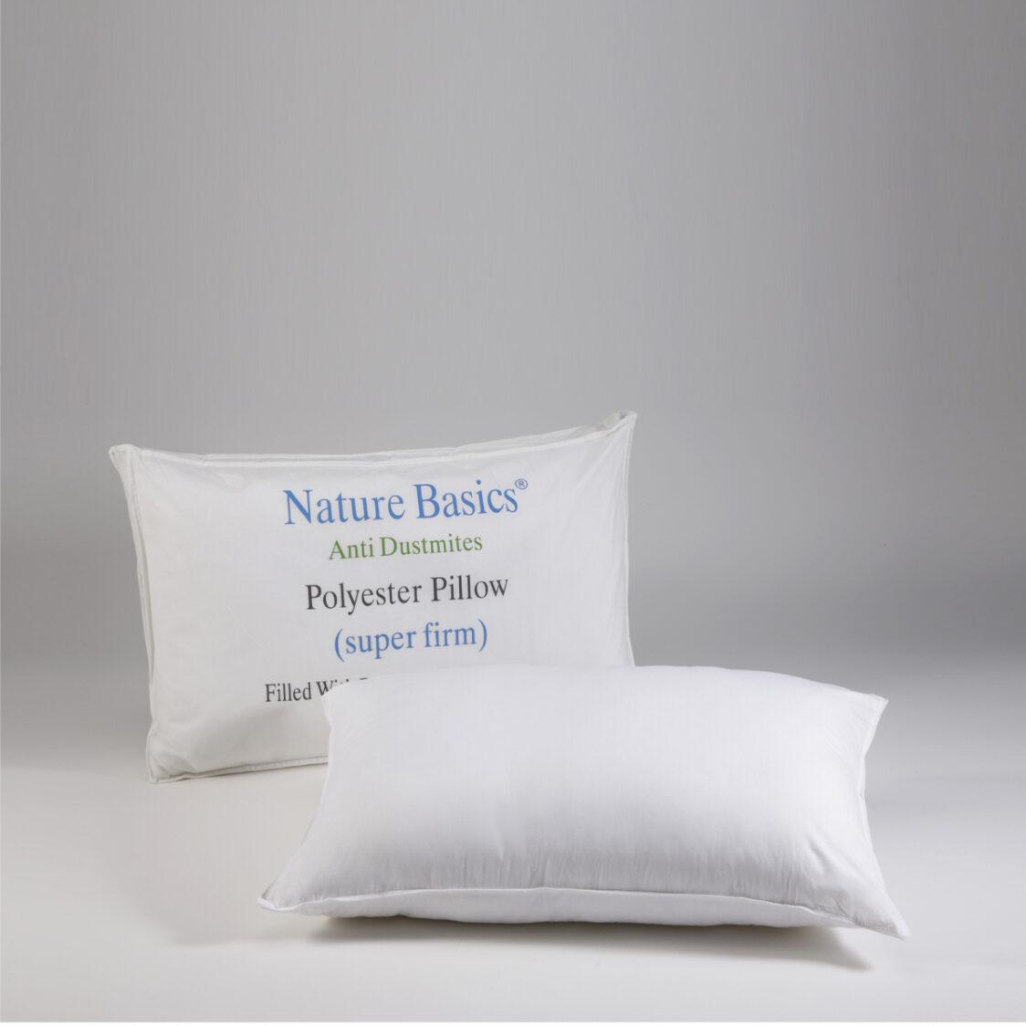 Polyester Pillow Super Firm