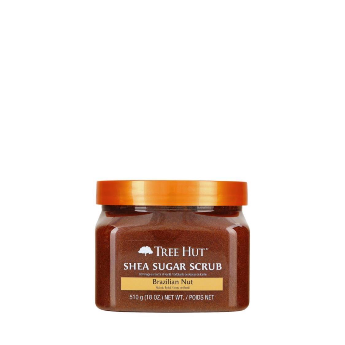 Shea Sugar Scrub Brazilian Nut 18oz 510g