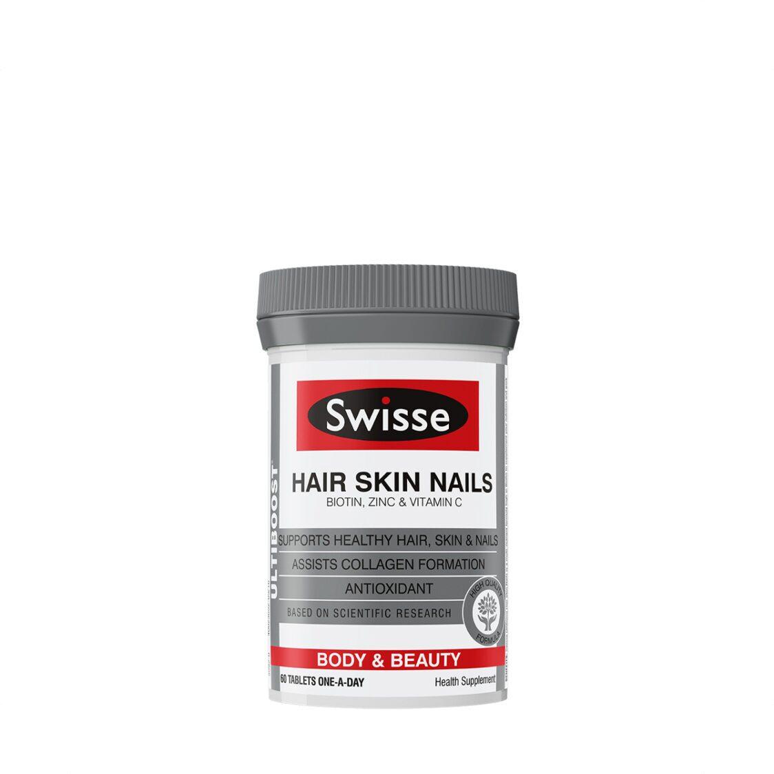 Swisse Ultiboost Hair Skin Nails 60s