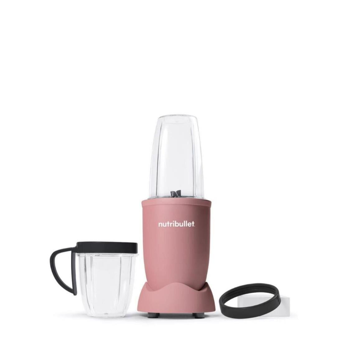 NutriBullet 600W Personal Blender Matte Soft Pink