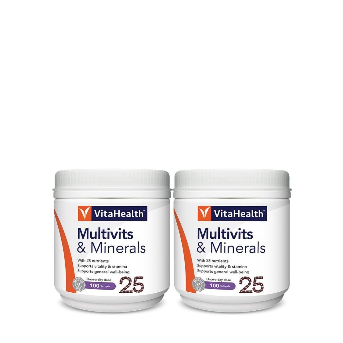 VitaHealth Multivits  Minerals 2x100s