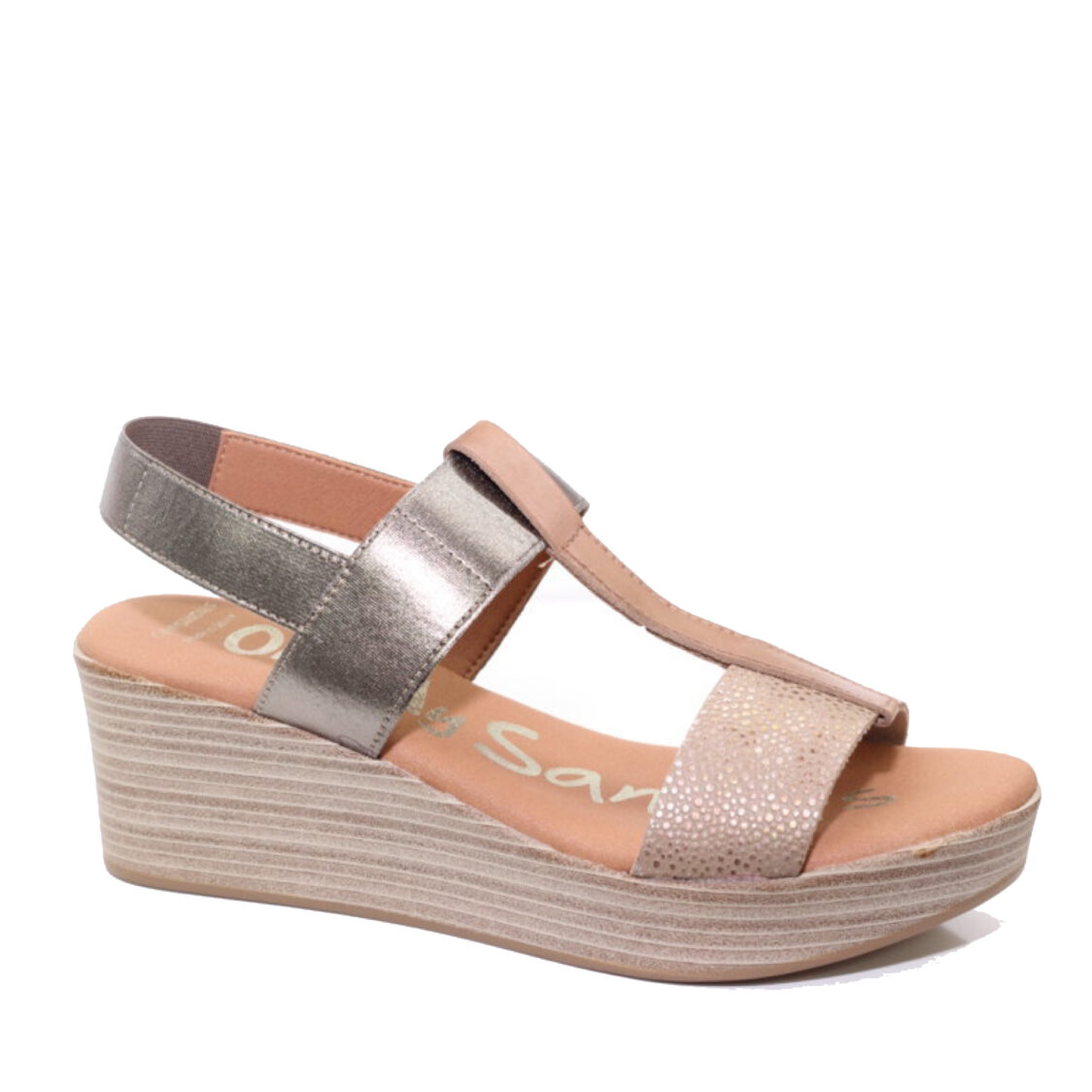 OH MY SANDALS Wedge 2 Pink