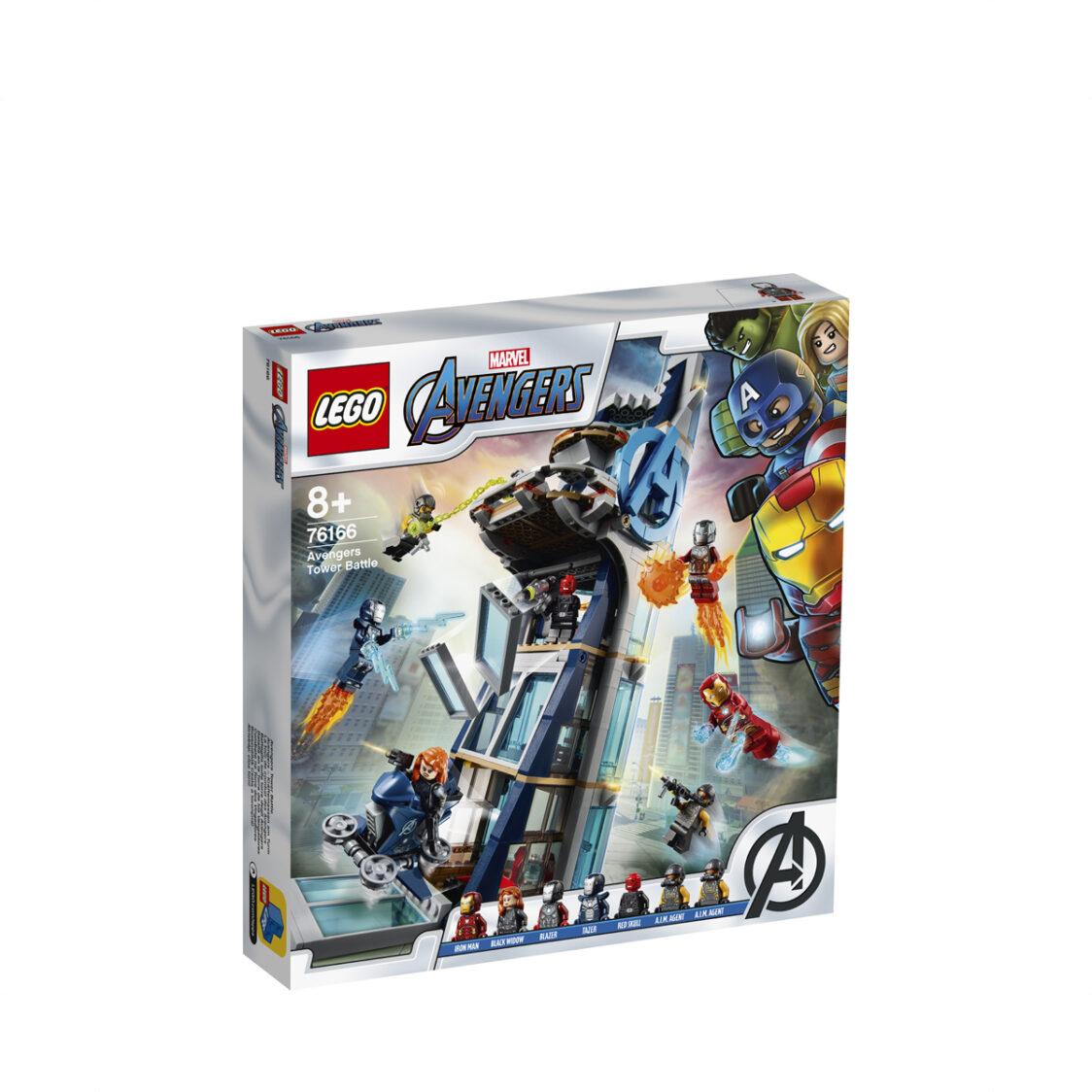 LEGO Avengers Tower Battle 76166 V29