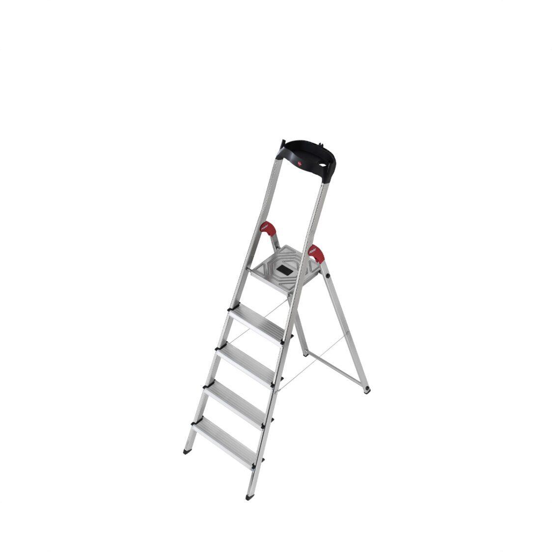 Hailo SL80 Comfortline 5 Steps Ladder H8040-507