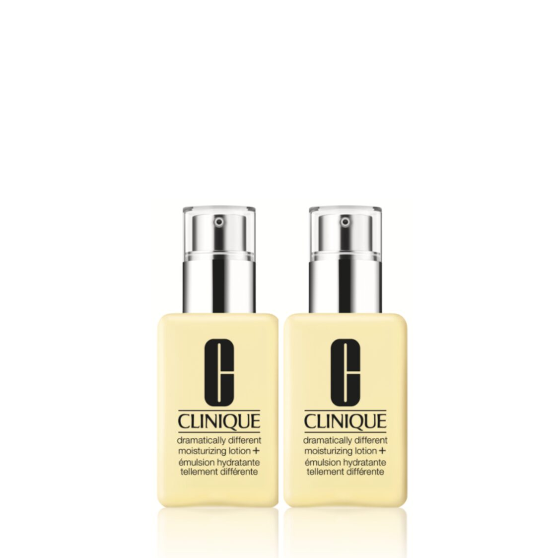 Clinique Dramatically Different Moisturizing Lotion Duo worth 120