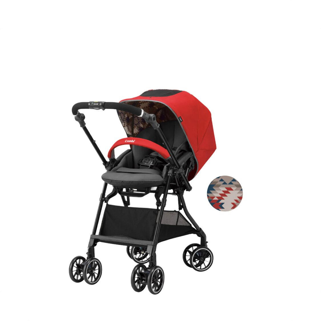 Combi Sugocal Compact Red Stroller 51kg 136 Months