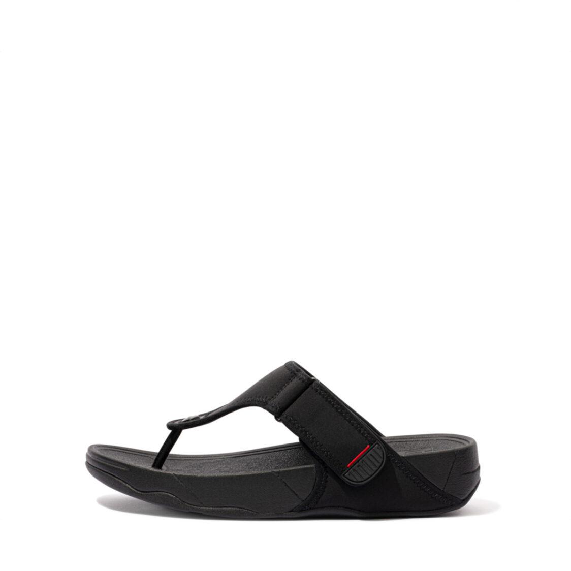 Fitflop Trakk II Toe-post Sandals All Black EJ3-090