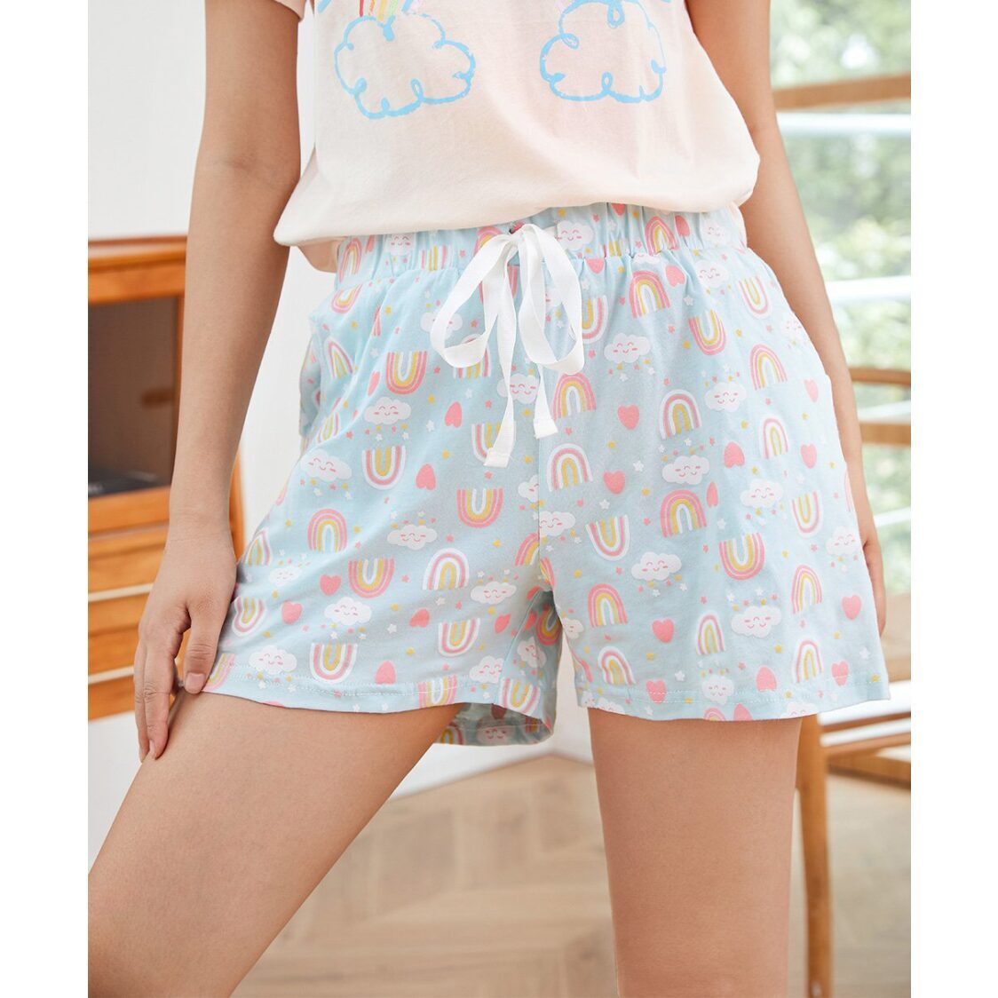 Young Hearts Mix  Match Cotton Shorts Y18-200947