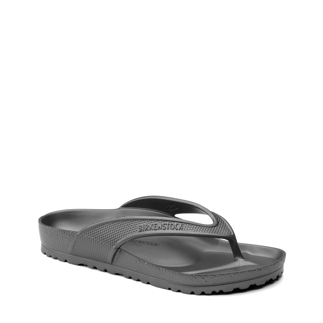 Birkenstock Honolulu EVA Unisex Regular Width Sandals Metallic Anthracite