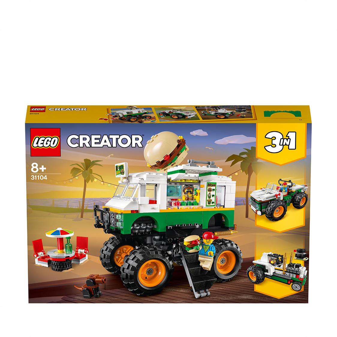 LEGO CREATOR - Monster Burger Truck 31104