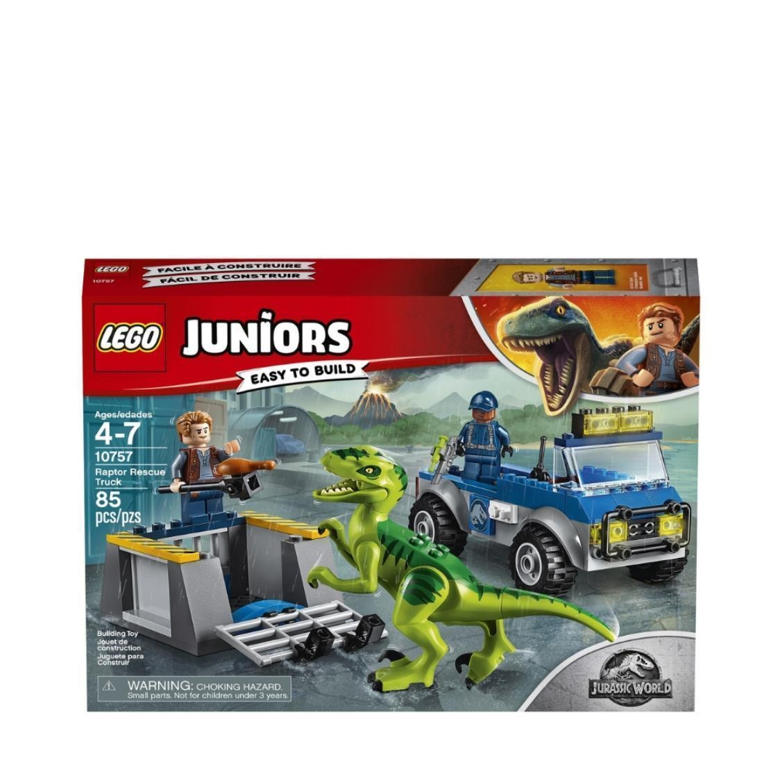 LEGO Juniors - Raptor Rescue Truck 10757 V29