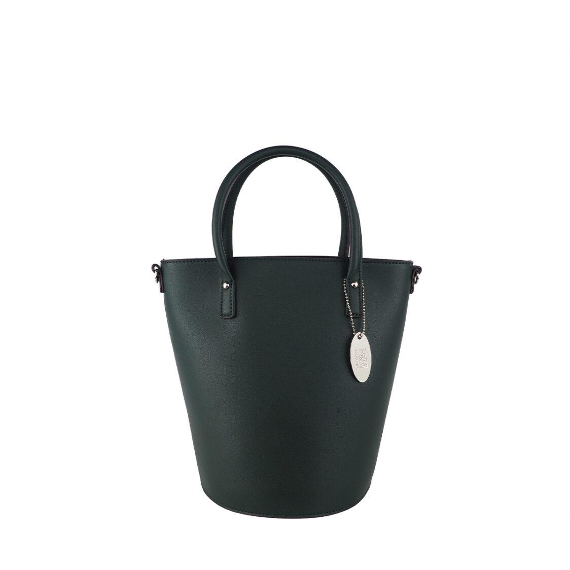 Perllini  Mel Satchel Bucket Sling Bag Olive PY9918-Oliv