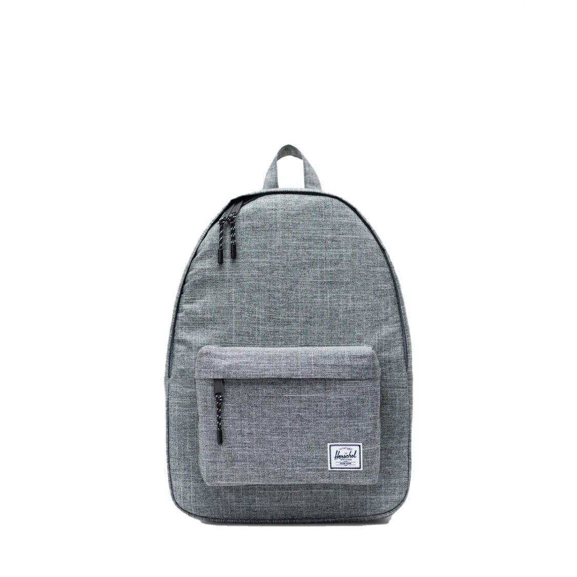 Herschel Classic Mid-Volume Raven Crosshatch Backpack 10485-00919-OS