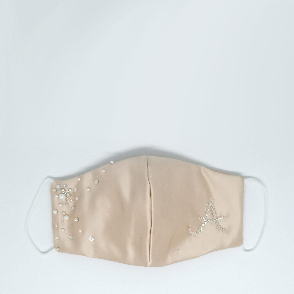 Gayatri Mask - Initial Beige