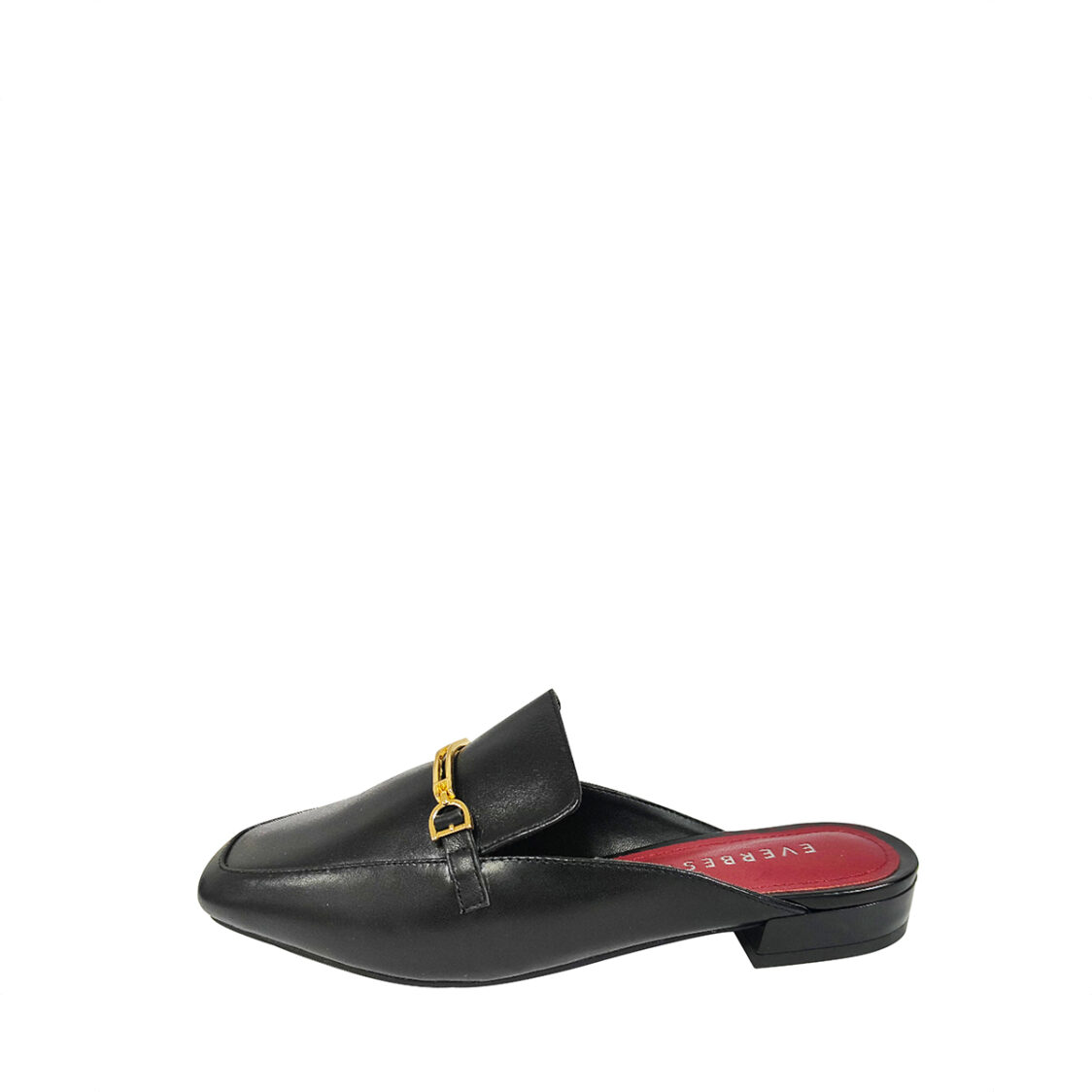 Everbest Comfort Ladies Slip on Mules in Black