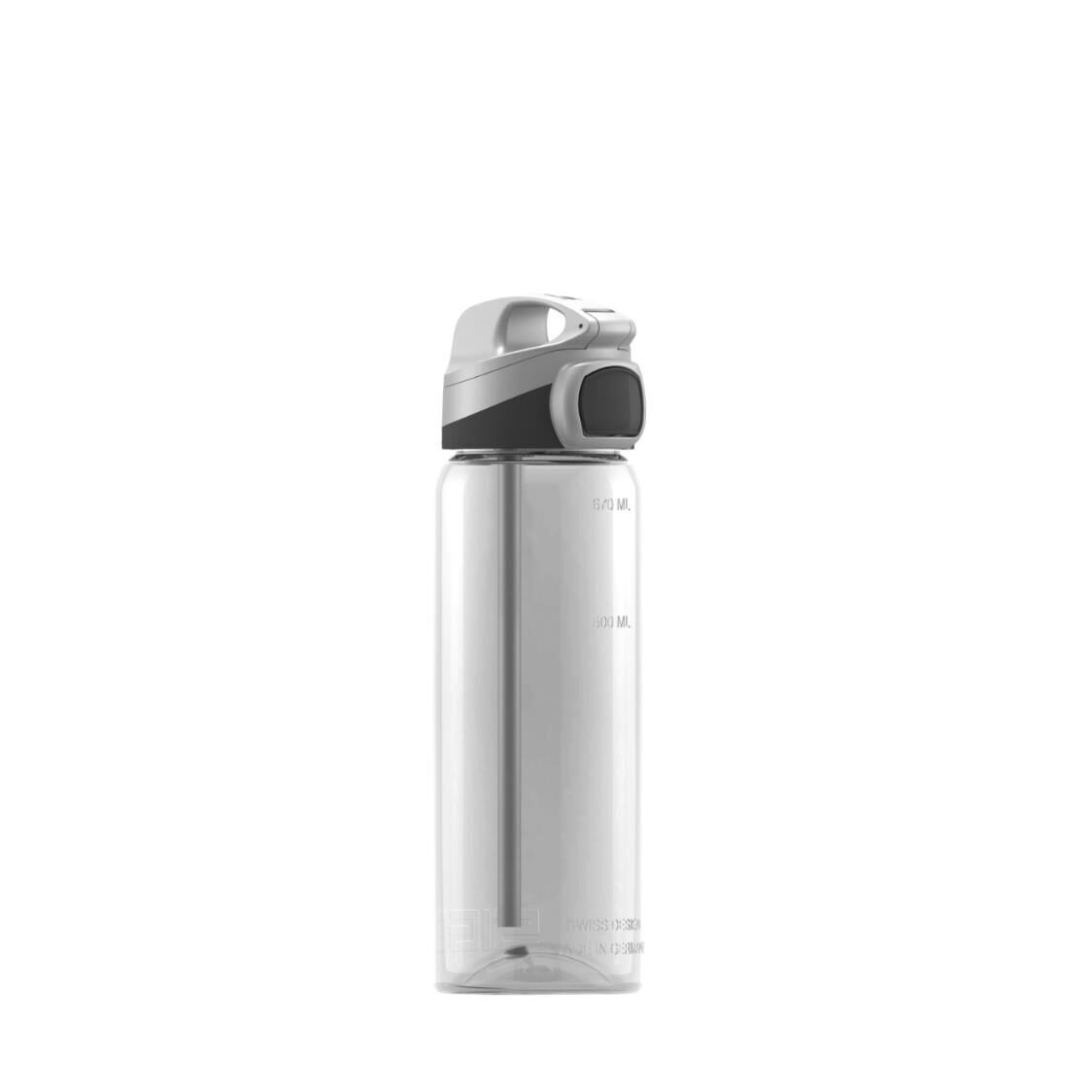Sigg 600ml Miracle Ttitan Water Bottle - Transparent - Made In Germany 863170