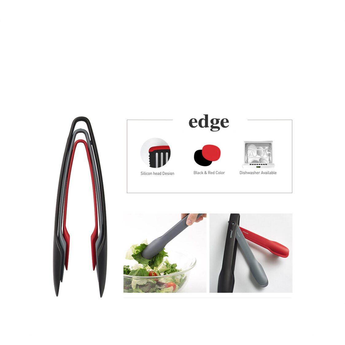 Happycall Edge Salad Tongs 4004-1006