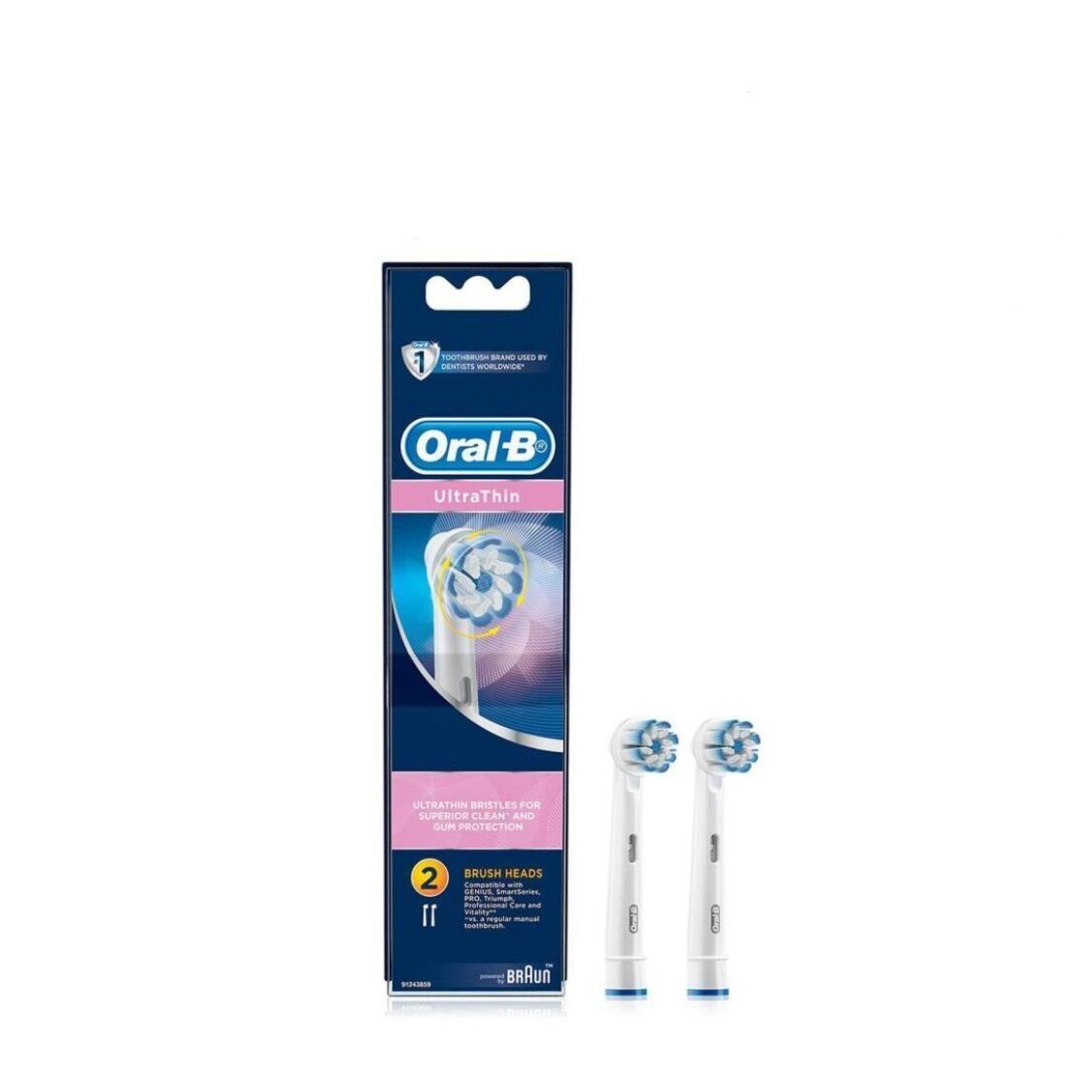 Braun Oral-B Ultra Thin Refill 2s